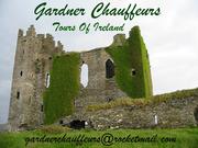 Tours of Ireland & Mini van hire  with Gardner Chauffeurs ,  Dublin .