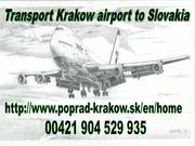 Transport airport Krakow to Slovakia