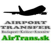 AIRPORT TRANSFER: Kosice - Rzeszow,  Kosice - Budapest  www.AirTrans.sk